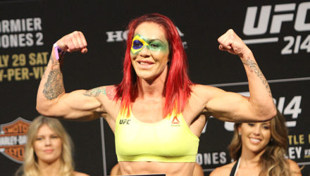 Cris Cyborg UFC 214 weigh