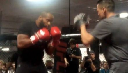 Daniel Cormier UFC 214 open workouts
