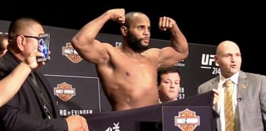 Daniel Cormier UFC 214 weigh