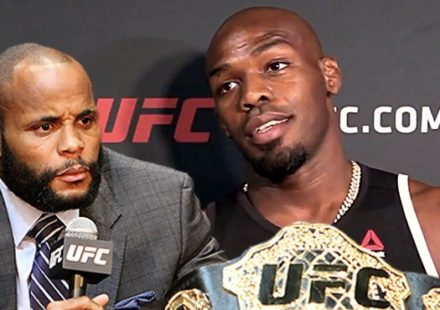 Daniel Cormier and Jon Jones