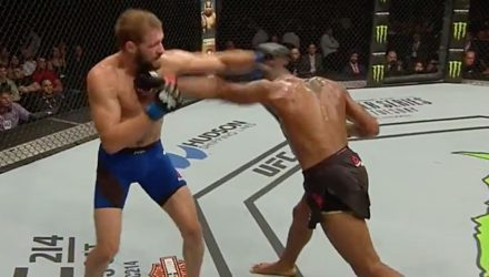 Danny Roberts UFC Glasgow Fight Highlights