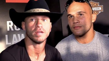 Donald Cerrone and Robbie Lawler UFC 214 media day