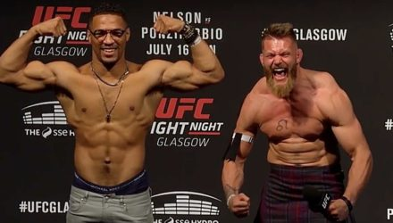 Kevin Lee and Emil Meeks UFC Glasgow Q&A