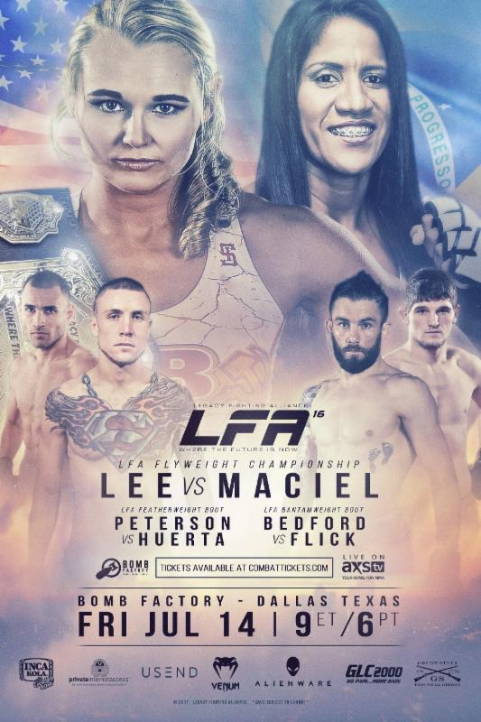 LFA 16 Lee vs Maciel Fight Poster