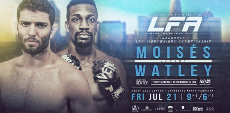 LFA 17 Moises vs Watley Fight Poster