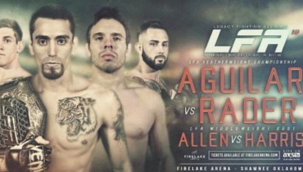 LFA 18 Aguilar vs Rader Fight Poster