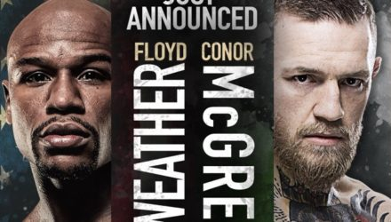 Mayweather vs McGregor World Tour Los Angeles Poster