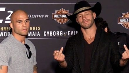Robbie Lawler vs Donald Cerrone UFC 214 Media Day