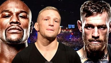 TJ Dillashaw over Floyd Mayweather vs Conor McGregor