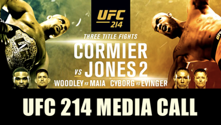 UFC 214 Cormier vs Jones 2 Media Call