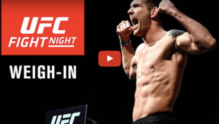 UFC on FOX 25 Weigh-in Video
