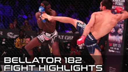 Bellator 182 Fight Highlights