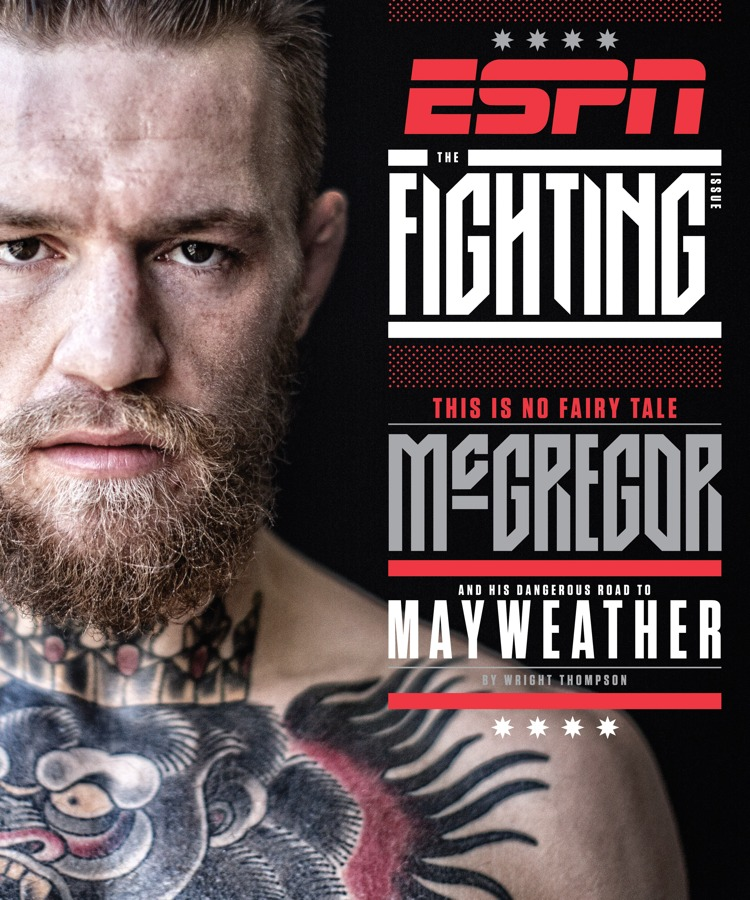 Conor McGregor - ESPN Magazine Fighting Cover