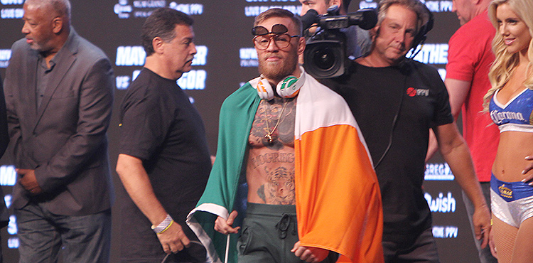 Conor McGregor weigh-in