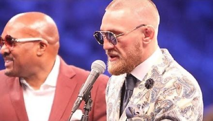 Conor McGregor and Leonard Ellerbe post