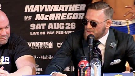 Conor McGregor talks future after Mayweather