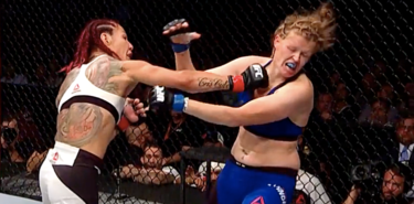 Cris Cyborg UFC 214 Fight Motion