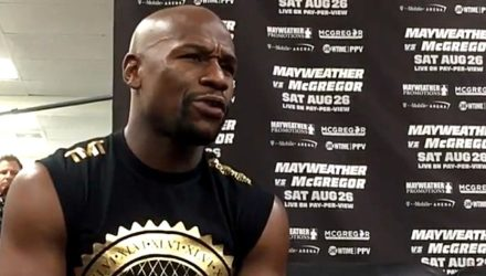 Floyd Mayweather MD perplexed