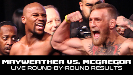Floyd Mayweather vs Conor McGregor Live Round-by-Round Results