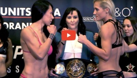 Invicta FC 25 weigh-in video replay