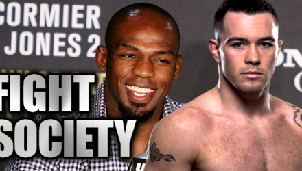 Jon Jones and Colby Covington - Fight Society