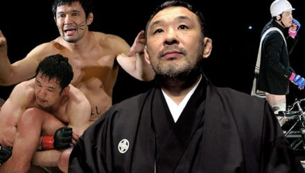 Kazushi Sakuraba UFC Hall of Fame Collage