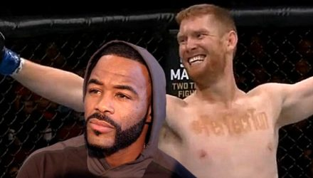 Rashad Evans and Sam Alvey