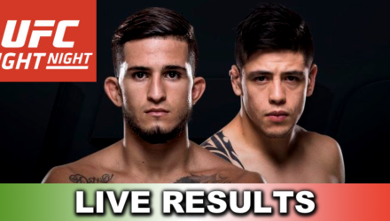 UFC Fight Night 114 Pettis vs Moreno Live Results