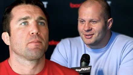 Chael Sonnen and Fedor Emelianenko