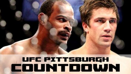 David Branch and Luke Rockhold - UFC Pittsburgh Countdown