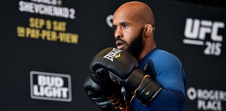Demetrious Johnson UFC 215 Open Workout