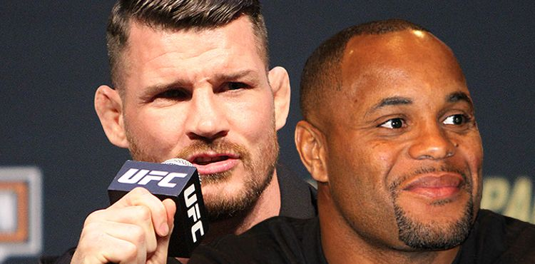 Michael Bisping and Daniel Cormier
