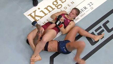 Sarah Moras UFC 215 fight highlights
