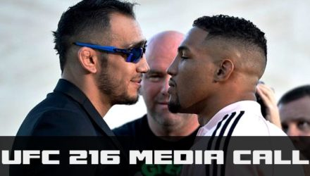 UFC 216 Media Call - Tony Ferguson and Kevin Lee