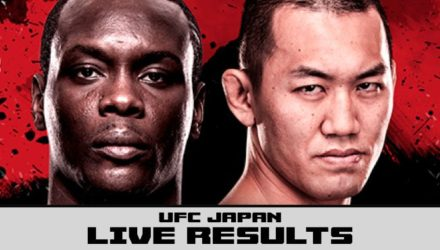 UFC Japan - Saint Preux vs Okami Live Results