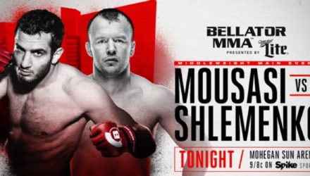 Bellator 185 Mousasi vs Shlemenko