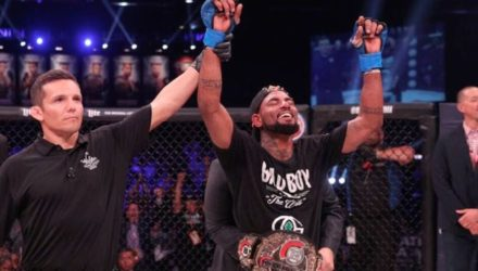 Darrion Caldwell Belt Bellator 184