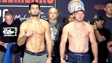 Gegard Mousasi and Alexander Shlemenko Bellator 185
