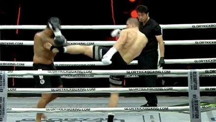 Glory 46 Verhoeven vs Bigfoot