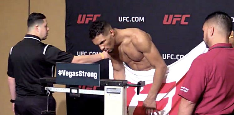 Kevin Lee misses weight at UFC 216