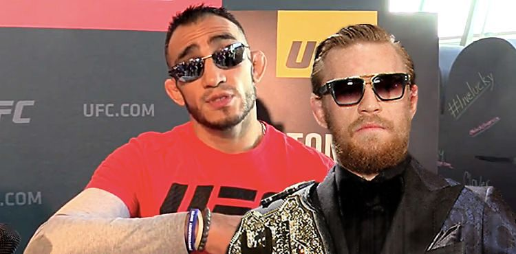 Tony Ferguson UFC 216 and Conor McGregor