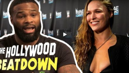 Tyron Woodley - Ronda Rousey - Hollywood Beatdown