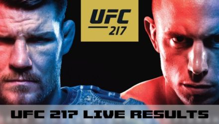 UFC 217 Bisping vs St-Pierre Live Results