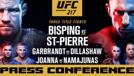UFC 217 Bisping vs St-Pierre Press Conference