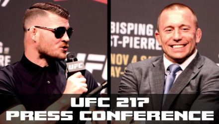 UFC 217 Press Conference