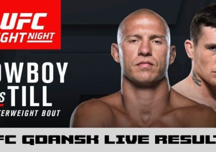 UFC Fight Night 118 Cerrone vs Till Live Results and Fight Stats