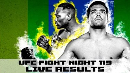 UFC Fight Night 119 Brunson vs Machida Live Results