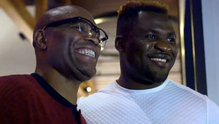 Anderson Silva and Francis Ngannou UFC 218 Embedded