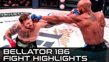 Bellator 186 Fight Highlights