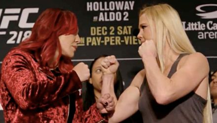 Cris Cyborg vs Holly Holm Detroit Face-Off